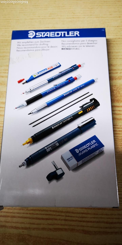 Estilográficas antiguas, bolígrafos y plumas: Staedtler Techniset marsmagno 2 con compàs nuevo - Foto 4 - 143712558