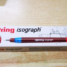 Estilográficas antiguas, bolígrafos y plumas: ROTRING ISOGRAPH. Lote 144247206
