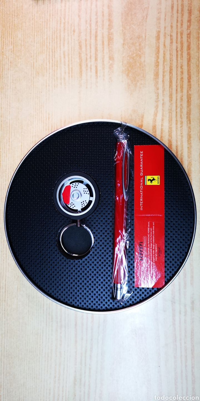 Estilográficas antiguas, bolígrafos y plumas: Ferrari set de bolígrafo y llavero - Foto 4 - 144461085