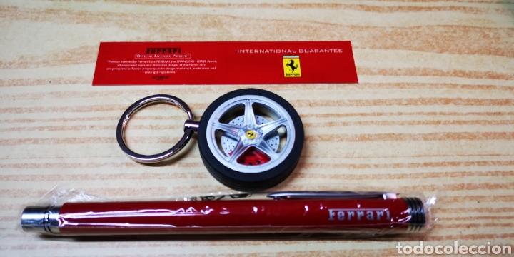Estilográficas antiguas, bolígrafos y plumas: Ferrari set de bolígrafo y llavero - Foto 7 - 144461085