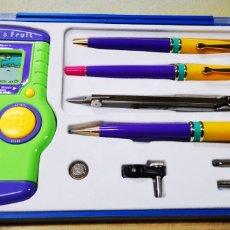 Estilográficas antiguas, bolígrafos y plumas: SCMER LEBER S.L. SET COMPLETO. Lote 144497154