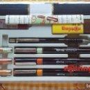 Estilográficas antiguas, bolígrafos y plumas: ESTUCHE ROTRING FP SET A ESTRENAR. TRES ESTILOGRAFOS CON MANGO, PORTAMINAS.... Lote 147660902