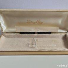 Estilográficas antiguas, bolígrafos y plumas: CAJA VACÍA DE PLUMA ESTILOGRAFICA BRADLEY. ORIGINAL. Lote 148040002