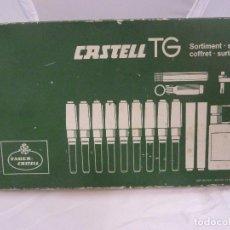 Estilográficas antiguas, bolígrafos y plumas: CONJUNTO FABER CASTELL TG S1169N. Lote 148047646