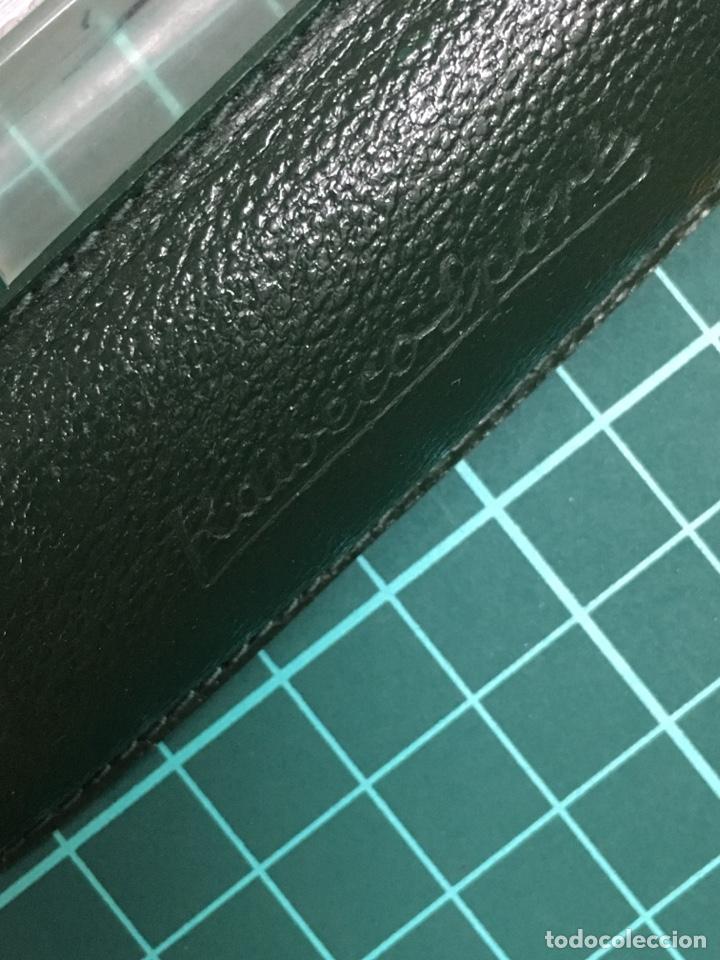 Estilográficas antiguas, bolígrafos y plumas: Set Kaweco Verde pluma V16N F + Bolígrafo 619 con funda. - Foto 14 - 148559309