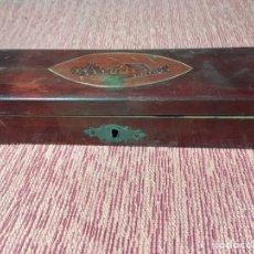 Estilográficas antiguas, bolígrafos y plumas: LAPICERO DE MADERA. Lote 149543298