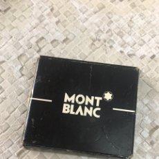 Estilográficas antiguas, bolígrafos y plumas: 4 CARTUCHOS MONT BLANC. Lote 152279905