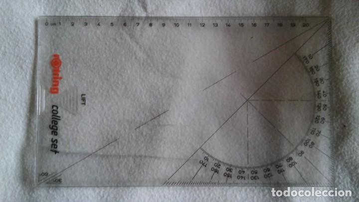 Estilográficas antiguas, bolígrafos y plumas: CAJA ROTRING COLLEGE SET - Foto 2 - 153706706
