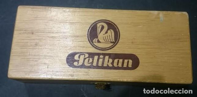 Estilográficas antiguas, bolígrafos y plumas: Juego de plumillas marca Pelikan Graphos en estuche, completo y con juego de tintas en caja - Foto 5 - 155648614