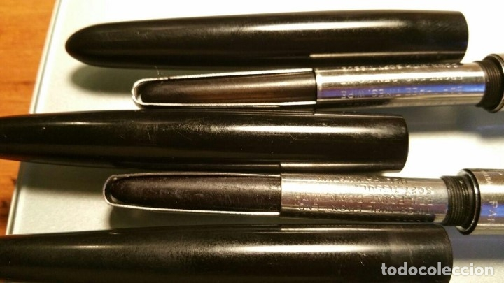 Estilográficas antiguas, bolígrafos y plumas: 4 PLUMAS PARKER DIFERENTES PARA COLECCIONISTAS - Foto 8 - 107748523