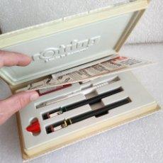 Estilográficas antiguas, bolígrafos y plumas: ROTRING COLLEGE SET SIN USO. Lote 158942246