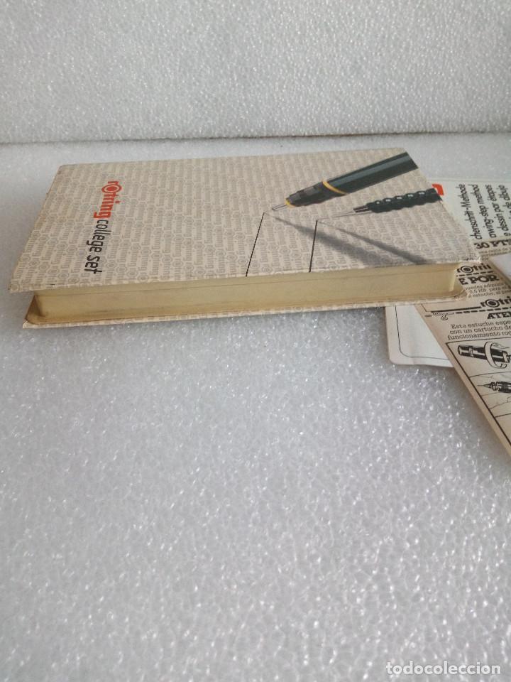Estilográficas antiguas, bolígrafos y plumas: Rotring college set sin uso - Foto 4 - 158942246