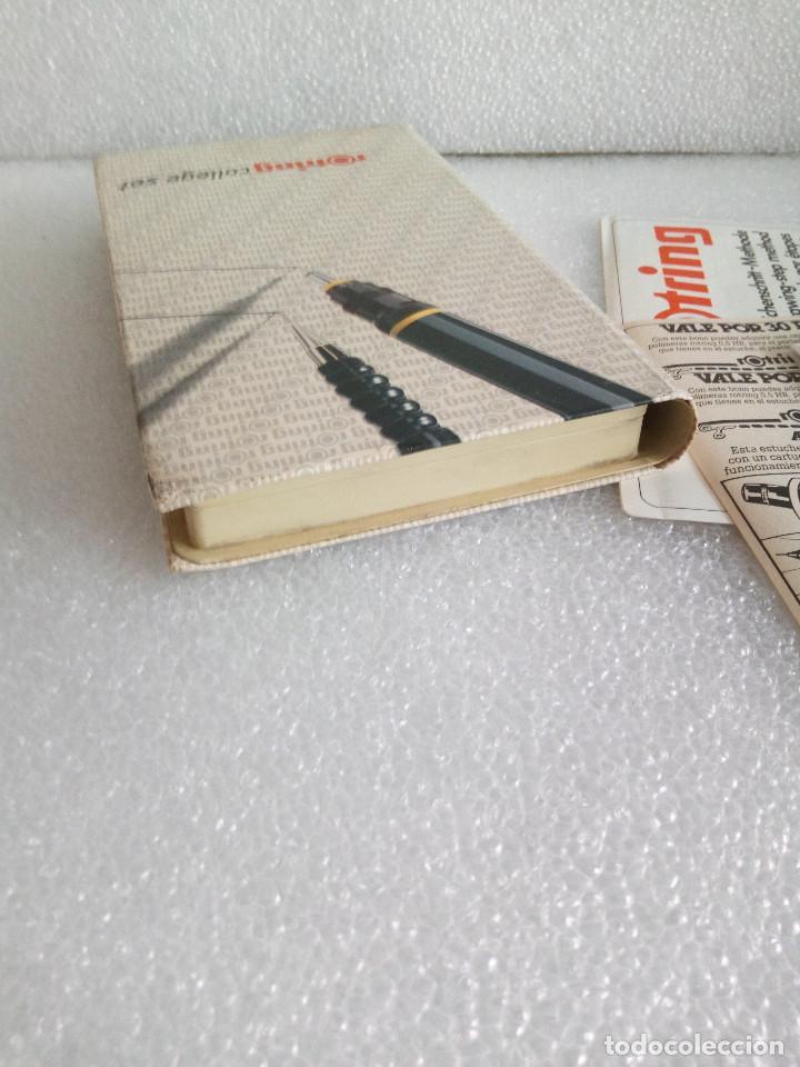 Estilográficas antiguas, bolígrafos y plumas: Rotring college set sin uso - Foto 5 - 158942246