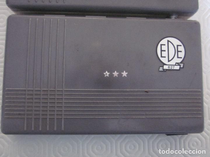 Estilográficas antiguas, bolígrafos y plumas: 2 cajas de compases EDE - Foto 2 - 159763218