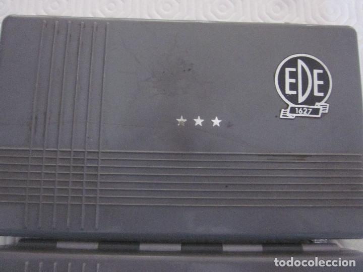 Estilográficas antiguas, bolígrafos y plumas: 2 cajas de compases EDE - Foto 5 - 159763218