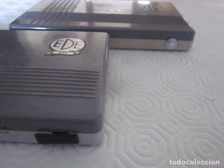 Estilográficas antiguas, bolígrafos y plumas: 2 cajas de compases EDE - Foto 6 - 159763218