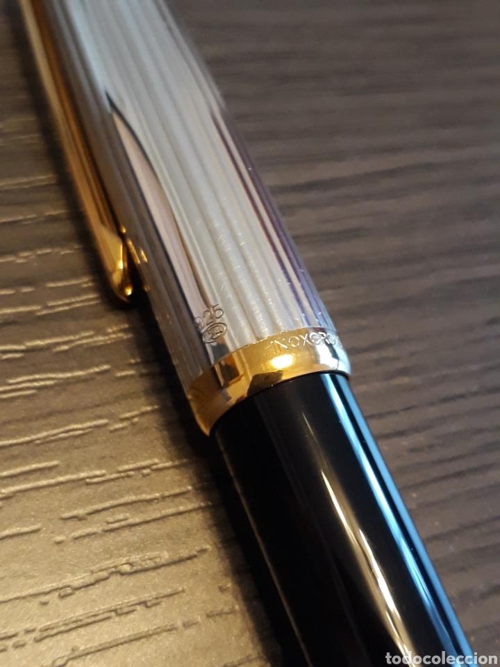 Estilográficas antiguas, bolígrafos y plumas: Antiguo Conjunto Estilografica y Boligrafo INOXCROM SIROCCO - Foto 4 - 161315144