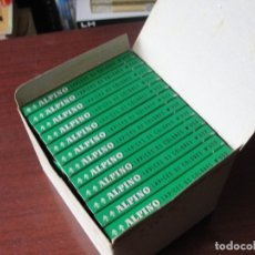 Estilográficas antiguas, bolígrafos y plumas: CAJA CON UNA DOCENA ESTUCHES ALPINO -12 LAPICES - SIN CODIGO DE BARRAS - STOCK DE TIENDA. Lote 161923442