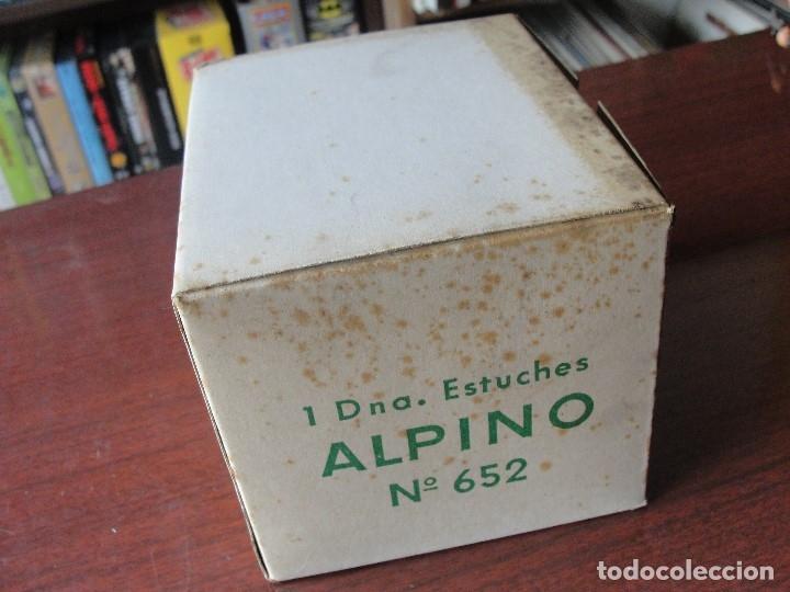 Estilográficas antiguas, bolígrafos y plumas: CAJA CON UNA DOCENA ESTUCHES ALPINO -12 LAPICES - SIN CODIGO DE BARRAS - STOCK DE TIENDA - Foto 2 - 161923442