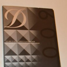 Estilográficas antiguas, bolígrafos y plumas: DUPONT - CATALOGO LUJO 2009. Lote 161926282