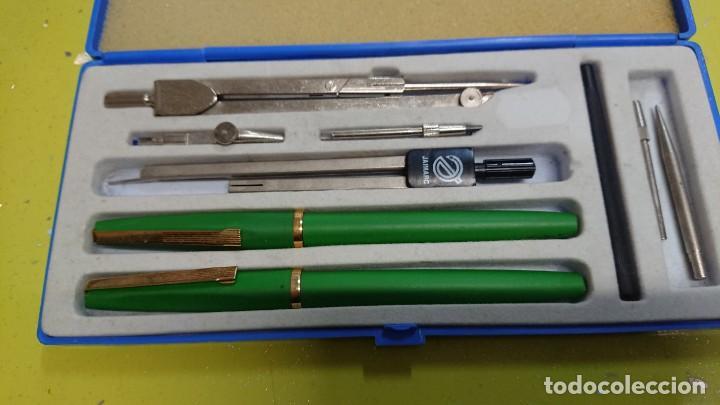 Estilográficas antiguas, bolígrafos y plumas: LOTE CAJAS DE COMPÁS SAMER LEBER - ROTRING - UNIVERSAL R7 - PRAXTON - KRONOS..... - Foto 17 - 164785610