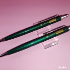 Estilográficas antiguas, bolígrafos y plumas: 10508/JUEGO-BOLÍGRAFO+PORTAMINAS-INOXCROM 2002-ESPAÑA-DESCATALOGADOS-VERDE METÁLICO-ANAGRAMA. Lote 52331985
