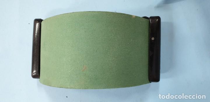 Estilográficas antiguas, bolígrafos y plumas: secante para escibania años 60 - Foto 2 - 168791424