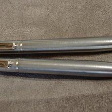 Estilográficas antiguas, bolígrafos y plumas: BOLIGRAFO Y PORTAMINAS SHEAFFER USA INOX. Lote 170160928