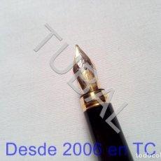 Estilográficas antiguas, bolígrafos y plumas: TUBAL PLUMA MAURICE LACROIX 14 K 585 ESTILOGRAFICA DE LUJO. Lote 170438448