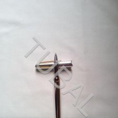 Estilográficas antiguas, bolígrafos y plumas: TUBAL TOMBOW BOLIGRAFO JAPONÉS PLATEADO. Lote 170439600