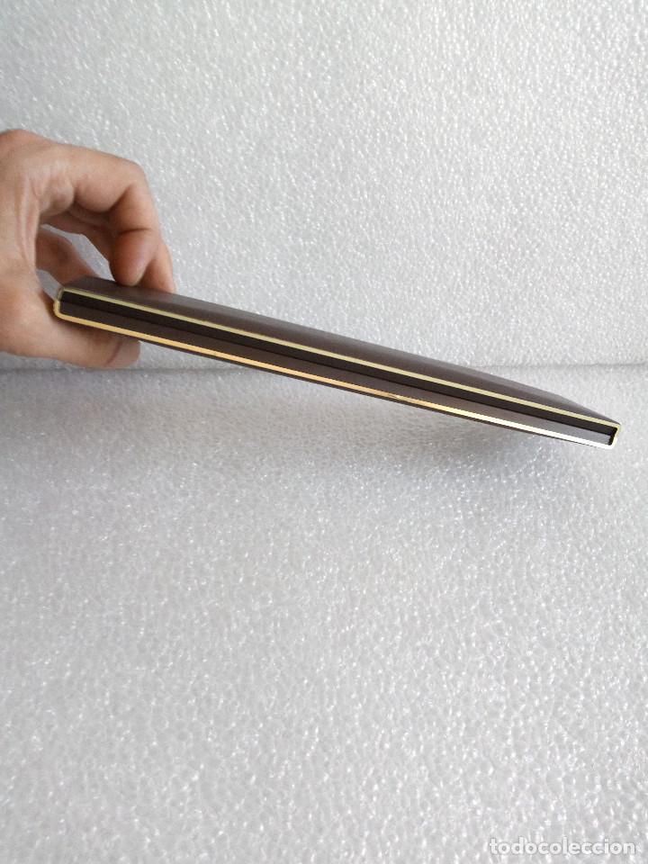 Estilográficas antiguas, bolígrafos y plumas: Estuche montblanc slimline oro 585 pluma y boligrafo sin uso slim line - Foto 16 - 171703035