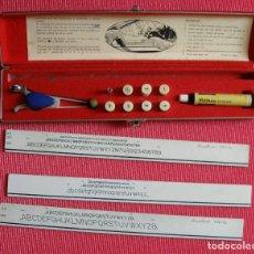 Estilográficas antiguas, bolígrafos y plumas: ESTUCHE DE ROTULAR LINE-MASTER. Lote 172303723