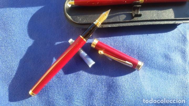 Estilográficas antiguas, bolígrafos y plumas: Conjunto de pluma y bolígrafo - Foto 4 - 172418205