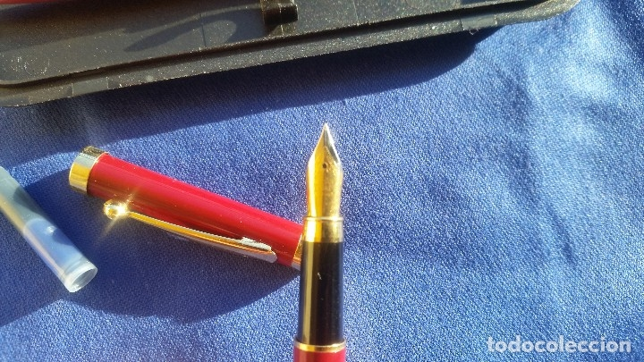 Estilográficas antiguas, bolígrafos y plumas: Conjunto de pluma y bolígrafo - Foto 5 - 172418205