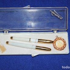 Stylos-plume Anciens, stylos-bille et becs de plume: ANTIGUO CONJUNTO PRIMERA COMUNION SEIMAN. Lote 173148715
