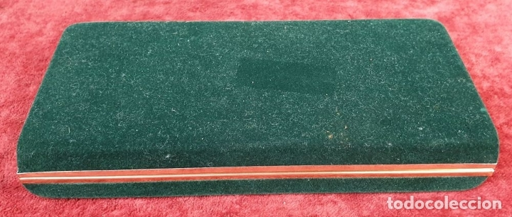 Estilográficas antiguas, bolígrafos y plumas: CONJUNTO DE PLUMA Y BLIGRAFO BEL BOL. CAJA ORIGINAL. CHINA. SIGLO XX. - Foto 9 - 175021795