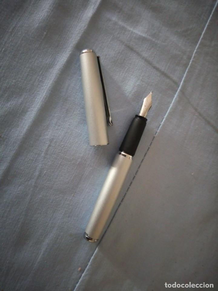 Estilográficas antiguas, bolígrafos y plumas: INOXCROM PLUMA,en estuche original. - Foto 4 - 175611788