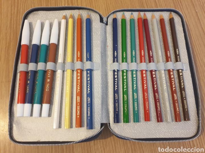Estilográficas antiguas, bolígrafos y plumas: Plumier Safta - Foto 3 - 176270552