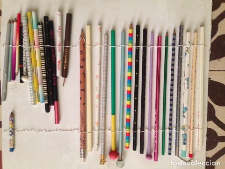 Estilográficas antiguas, bolígrafos y plumas: Espectacular colección de lapizes antiguos - Foto 8 - 176650400