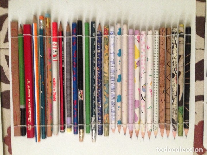 Estilográficas antiguas, bolígrafos y plumas: Espectacular colección de lapizes antiguos - Foto 9 - 176650400