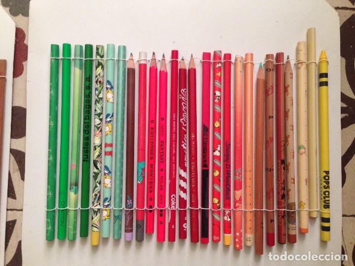 Estilográficas antiguas, bolígrafos y plumas: Espectacular colección de lapizes antiguos - Foto 10 - 176650400