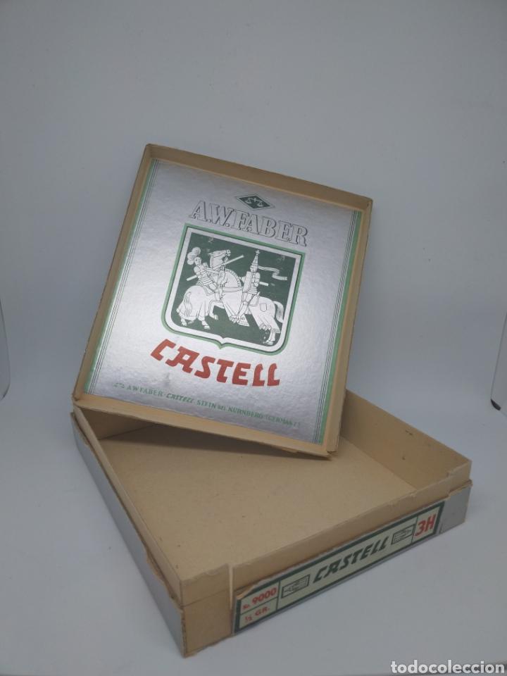 Estilográficas antiguas, bolígrafos y plumas: Caja grande Faber Castell - Foto 2 - 176702800