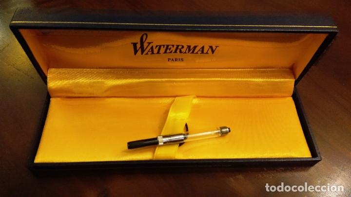 Estilográficas antiguas, bolígrafos y plumas: SET DE ESCRITURA COMPLETO MARCA WATERMAN (PARIS) - Foto 5 - 179113588