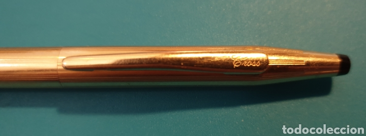 Estilográficas antiguas, bolígrafos y plumas: Dos bolígrafos Cross gold 14kt Classic - Foto 4 - 180193557