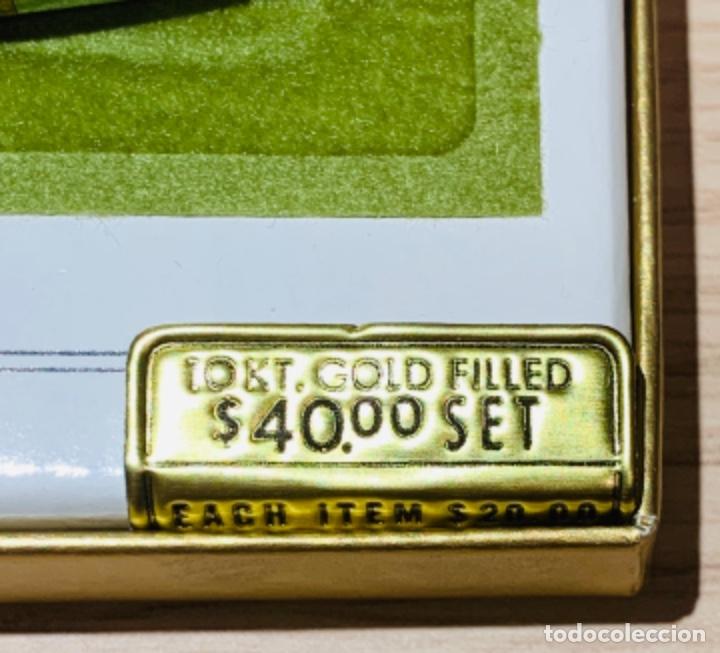 Estilográficas antiguas, bolígrafos y plumas: Set Ballpoint & Pencil CROSS GOLD Filled 10Kt. Classic Century, 4501. USA. Box, papers. '70s. - Foto 3 - 181542681