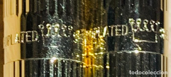 Estilográficas antiguas, bolígrafos y plumas: Set SHEAFFER TARGA 1005s 23k Gold Plated. Fountain Pen & BallPoint. Deluxe box. Early '80s. - Foto 7 - 182051680