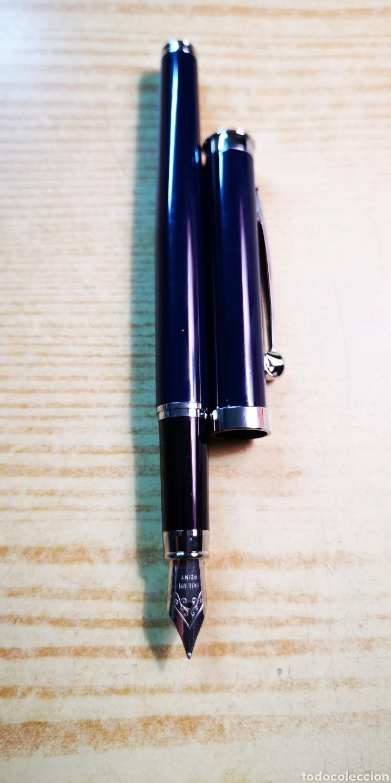 Estilográficas antiguas, bolígrafos y plumas: Factis bolígrafo con estuche - Foto 4 - 182878586