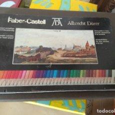 Estilográficas antiguas, bolígrafos y plumas: ESTUCHE DE LAPICES FABER CASTELL ALBRECHT DURER ACUARELABLES CAJA ORIGINAL. Lote 183763961