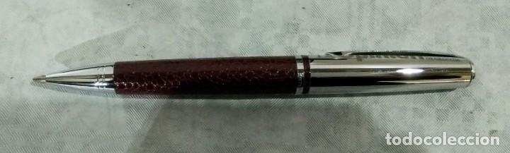 Estilográficas antiguas, bolígrafos y plumas: JUEGO ESTILOGRAFICA BOLIGRAFO Y PORTAMINAS PIERRE DELON - Foto 10 - 183800461