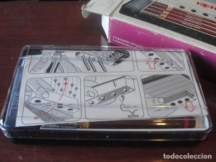 Estilográficas antiguas, bolígrafos y plumas: caja por estrenar 4 ROTRING 2000 NUEVO VARIANT - STOCK PAPELERIA / ENVIO GRATIS - Foto 4 - 183917706